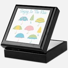 Singing In The Rain Keepsake Box