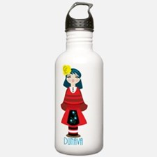 Dunava Doll with Text Water Bottle