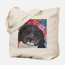 Rookie in the garden Tote Bag
