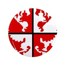 """Window Eagle.png 3.5"""" Button (100 pack)"""