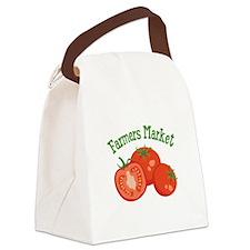 Farmers Market Canvas Lunch Bag