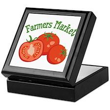 Farmers Market Keepsake Box