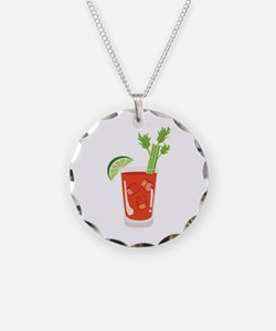 Bloody Mary Drink Necklace