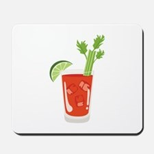 Bloody Mary Drink Mousepad