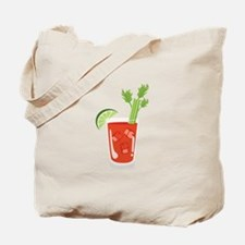 Bloody Mary Drink Tote Bag