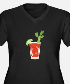 Bloody Mary Drink Plus Size T-Shirt