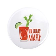 """BLOODY MARY 3.5"""" Button (100 pack)"""