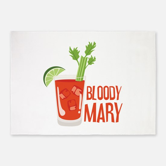 BLOODY MARY 5'x7'Area Rug
