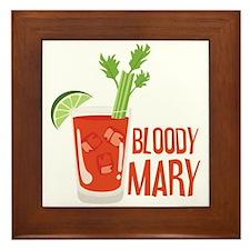 BLOODY MARY Framed Tile