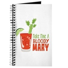 Make Mine A BLOODY MARY Journal
