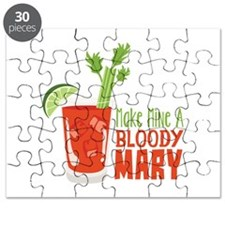 Make Mine A BLOODY MARY Puzzle