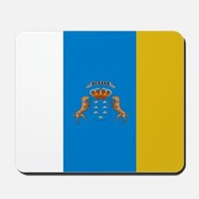 Canary Islands flag Mousepad