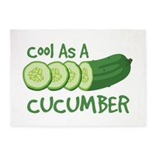 Cool As A CUCUMBER 5'x7'Area Rug