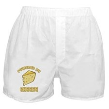 Powered By Cheese Boxer Shorts