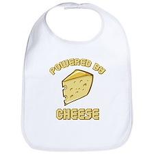 Powered By Cheese Bib