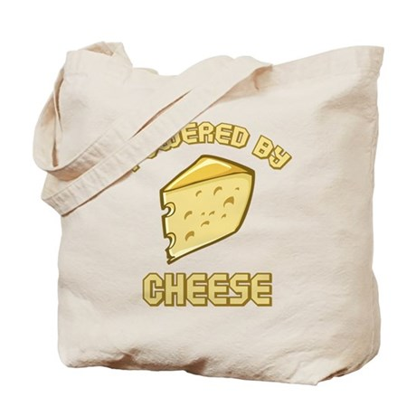 Powered By Cheese Tote Bag