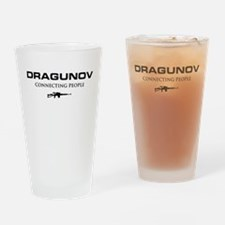 DRAGUNOV (connecting people).png Drinking Glass