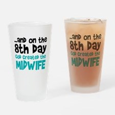 Midwife Creation Drinking Glass