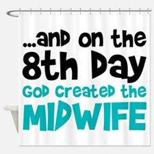 Midwife Creation Shower Curtain