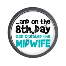 Midwife Creation Wall Clock