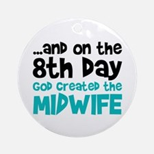Midwife Creation Ornament (Round)