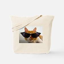 Cool Cat in Sunglasses Tote Bag
