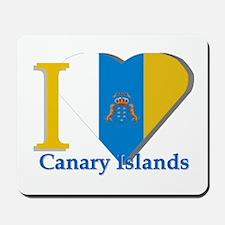 I love Canary Islands Mousepad