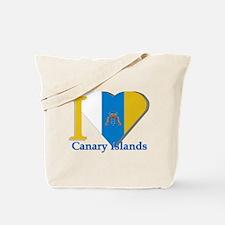 I love Canary Islands Tote Bag
