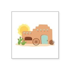 Adobe House Desert Sticker