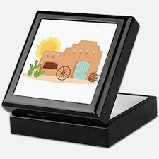 Adobe House Desert Keepsake Box