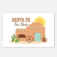 SANTA FE New mesico Postcards (Package of 8)