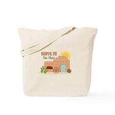 SANTA FE New mesico Tote Bag