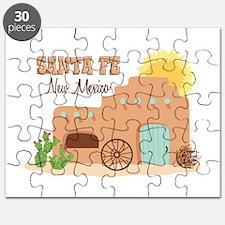 SANTA FE New mesico Puzzle