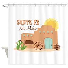SANTA FE New mesico Shower Curtain