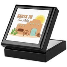 SANTA FE New mesico Keepsake Box