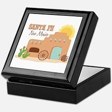 SANTA FE New mesico Keepsake Box