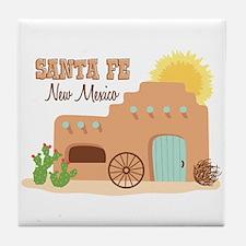 SANTA FE New mesico Tile Coaster