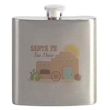 SANTA FE New mesico Flask