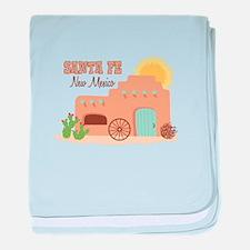 SANTA FE New mesico baby blanket