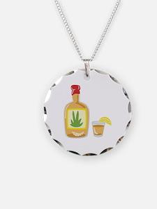 Tequila Bottle Shot Necklace