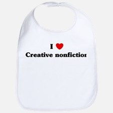 I Love Creative nonfiction Bib
