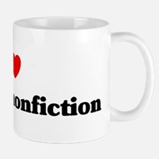 I Love Creative nonfiction Mug