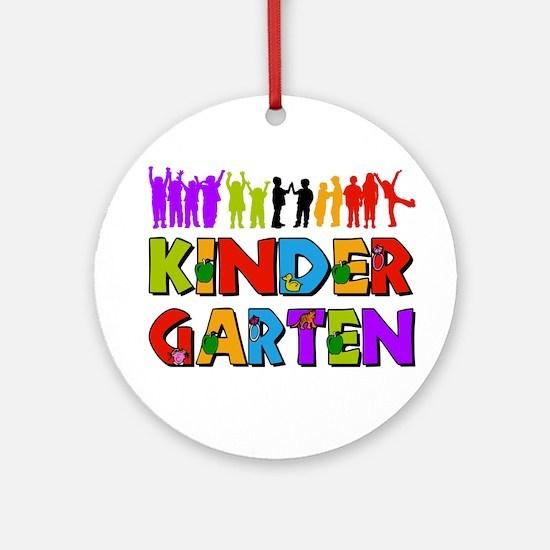 Kindergarten Fun Ornament (Round)