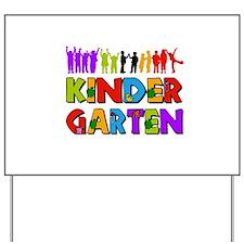 Kindergarten Fun Yard Sign