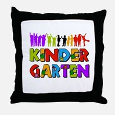 Kindergarten Fun Throw Pillow