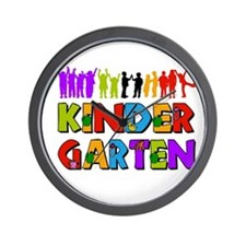 Kindergarten Fun Wall Clock