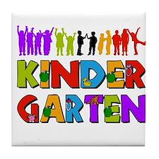 Kindergarten Fun Tile Coaster