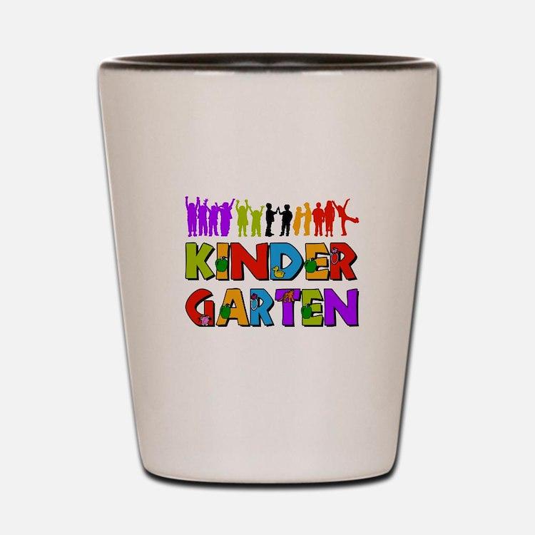 Kindergarten Fun Shot Glass