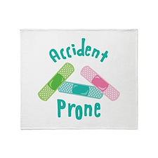 Accident Prone Throw Blanket