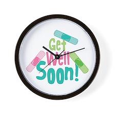 Get Well Soon! Wall Clock